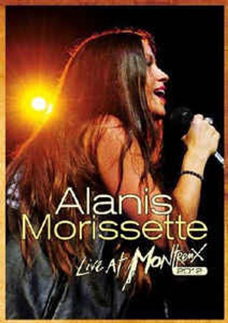Alanis Morissette – Live At Montreux 2012 - DVD *NEW*