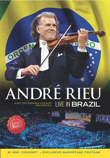 André Rieu & The Johann Strauss Orchestra* – Live In Brazil - DVD *NEW*