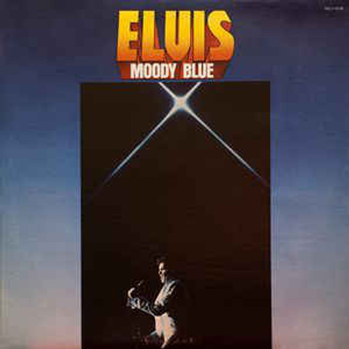 Elvis Presley ‎– Moody Blue (NZ) - LP *USED*
