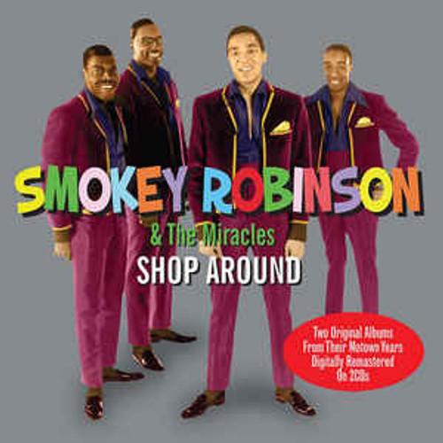 Smokey Robinson & The Miracles – Shop Around - 2CD *NEW*