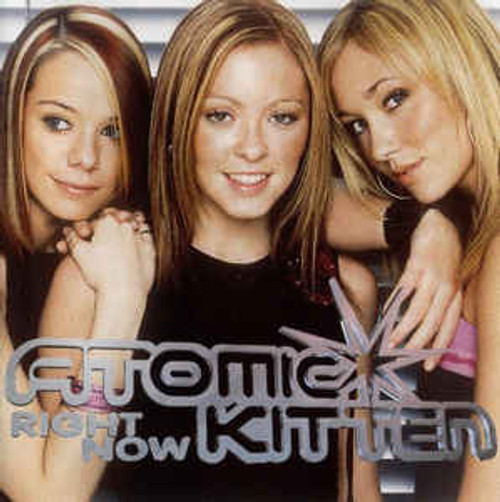 Atomic Kitten – Right Now - CD *USED*