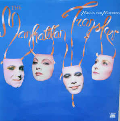 The Manhattan Transfer ‎– Mecca For Moderns (AU) - LP *USED*