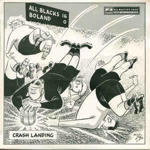 "Bob Irvine – Crash Landing - 7"" *USED*"