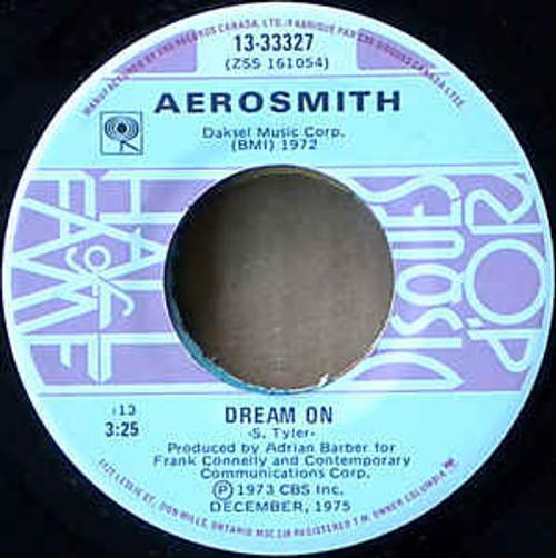 Aerosmith – Dream On / Sweet Emotion - 7' *USED*