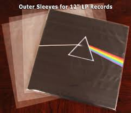"""Record Outer Sleeves 12"""" - PK50 *NEW*"""