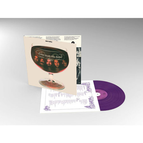 Deep Purple - Come Taste The Band (Purple Coloured Vinyl) - LP *NEW*