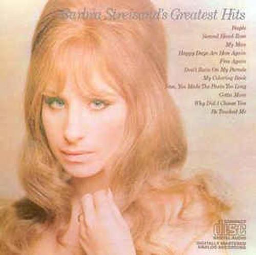 Barbra Streisand – Barbra Streisand's Greatest Hits - CD *USED*