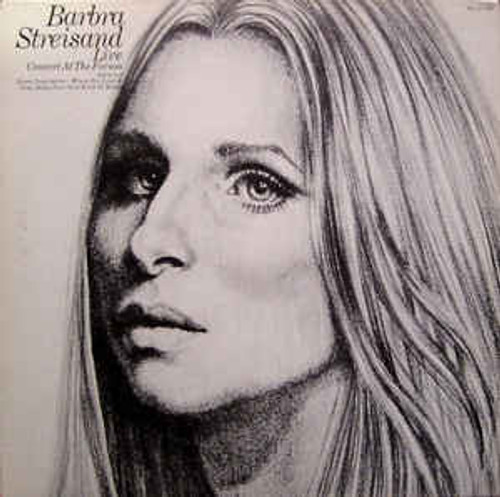 Barbra Streisand – Live Concert At The Forum - LP *USED*