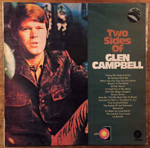 Glen Campbell – Two Sides Of Glen Campbell (NZ) - LP *USED*