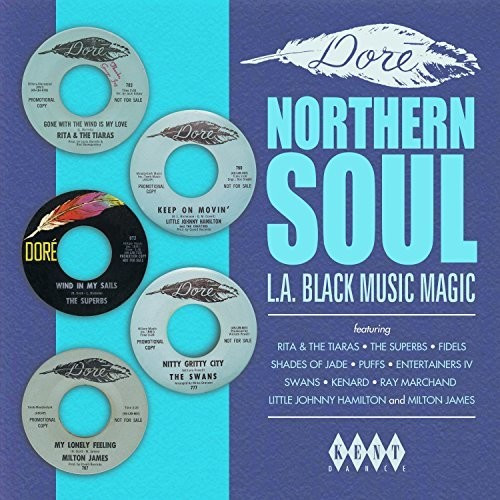 Dore Northern Soul: L.A. Black Music Magic - Various - LP *NEW*