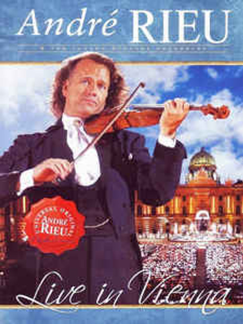 André Rieu & The Johann Strauss Orchestra* – Live In Vienna - DVD *NEW*
