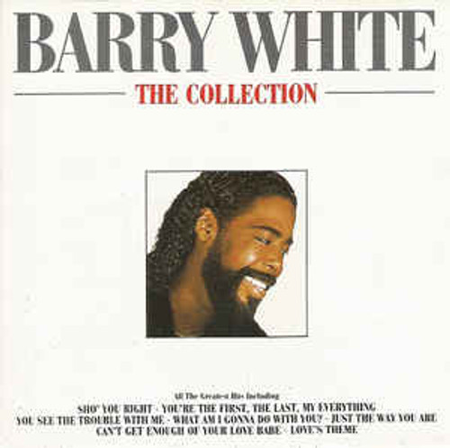 Barry White ‎– The Collection - CD *USED*