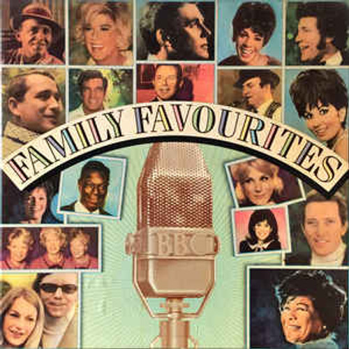Family Favourites - Various - 8LP *USED*