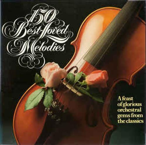 150 Best Loved Melodies - Various - 8LP *USED*