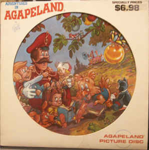 Candle – Adventures In Agapeland - LP, Compilation, Picture Disc *USED*