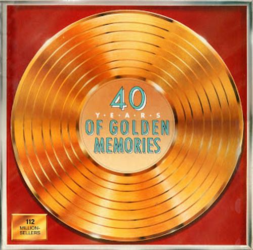 40 Years Of Golden Memories - Various - 8LP *USED*