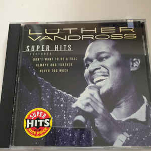 Luther Vandross ‎– Super Hits - CD *NEW*