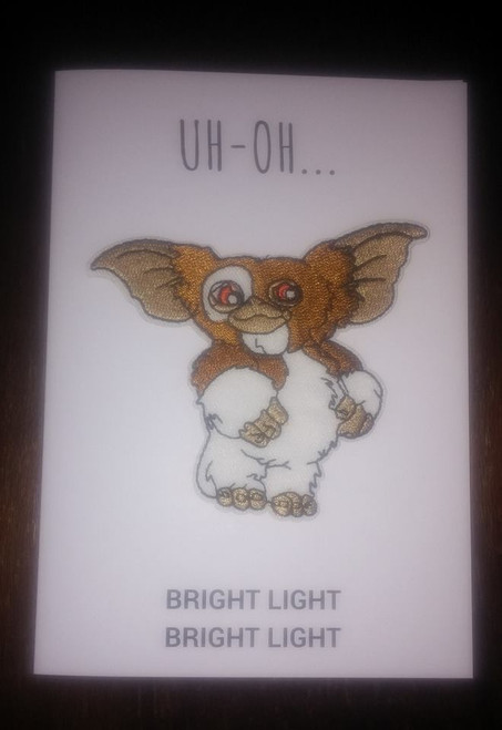 Shakey Smiles - UH-OH BRIGHT LIGHT BRIGHT LIGHT - CARD/PATCH