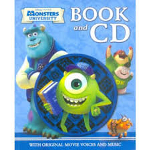Disney Monsters University - BOOK/CD