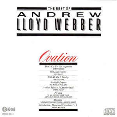 Andrew Lloyd Webber – Ovation - The Best Of Andrew Lloyd Webber - LP *USED*
