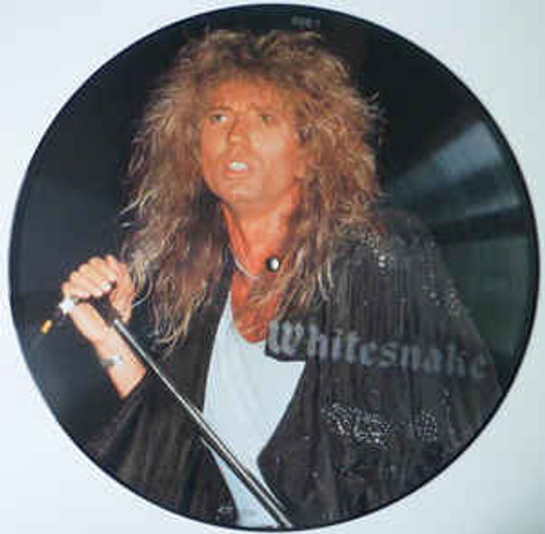 """Whitesnake – The Chris Tetley Interviews 12"""", 33 ⅓ RPM, Picture Disc, Unofficial Release *USED*"""