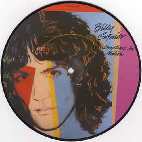 """Billy Squire - Emotions In Motion  7"""", Picture Disc, 45 RPM *USED*"""