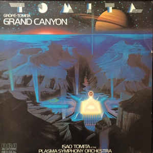 Isao Tomita* And The Plasma Symphony Orchestra ‎– Grand Canyon - LP *USED*