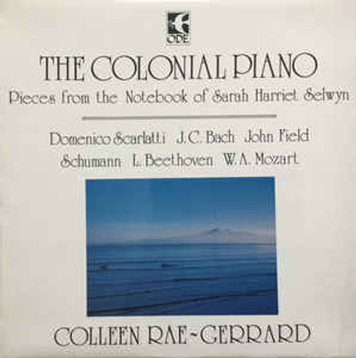 Colleen Rae-Gerrard ‎– The Colonial Piano - LP *USED*