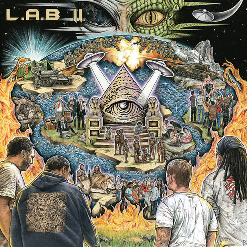 L.A.B - II - 2LP *NEW*