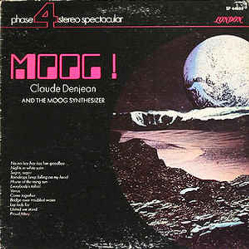 Claude Denjean ‎– Moog! Claude Denjean And The Moog Synthesizer - LP *USED*