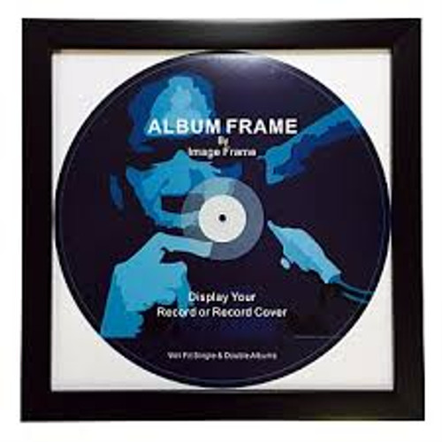 Record Album Frame  (Black)