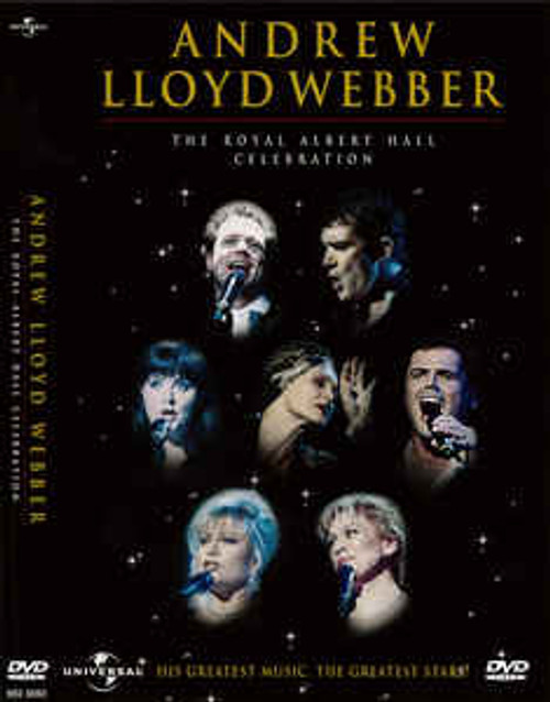 Andrew Lloyd Webber – The Royal Albert Hall Celebration - DVD *NEW*
