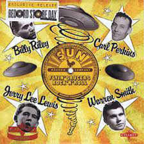 "B.Riley,C.Perkins,J.Lee Lewis,W.Smith – Flyin' Saucers Rock 'N' Roll - 7"" *NEW* RSD 2014"
