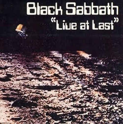 Black Sabbath – Live At Last... (UK)- LP *USED*