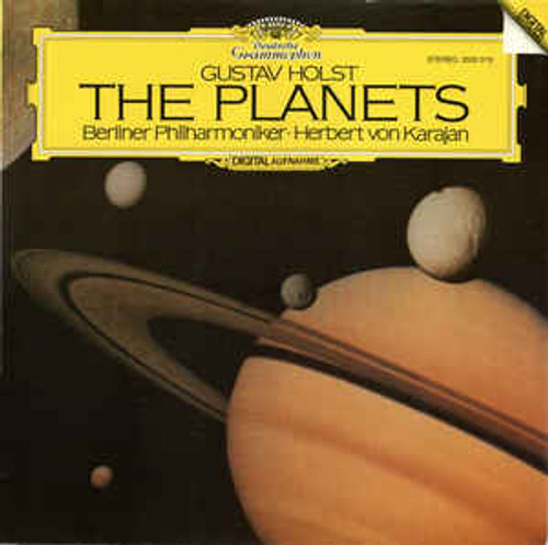 Gustav Holst, Berliner Philharmoniker · Herbert von Karajan – The Planets - LP (GERMANY) *USED*