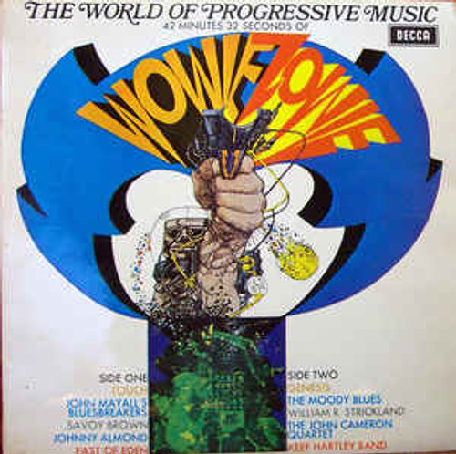 The World Of Progressive Music (NZ) - Various - LP *USED*