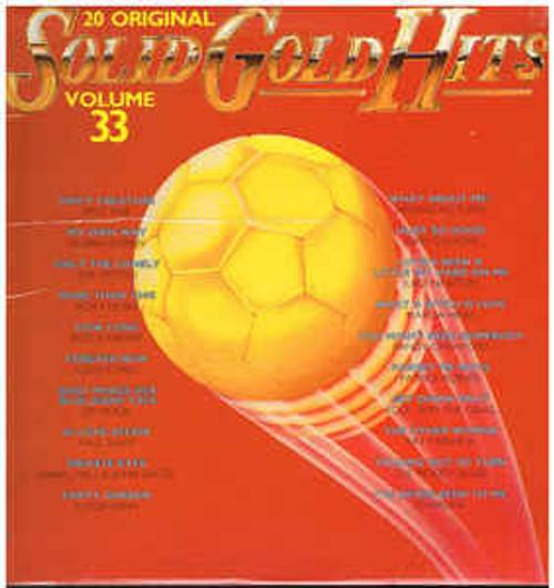 20 Original Solid Gold Hits Volume 33 (NZ) - Various - LP *USED*