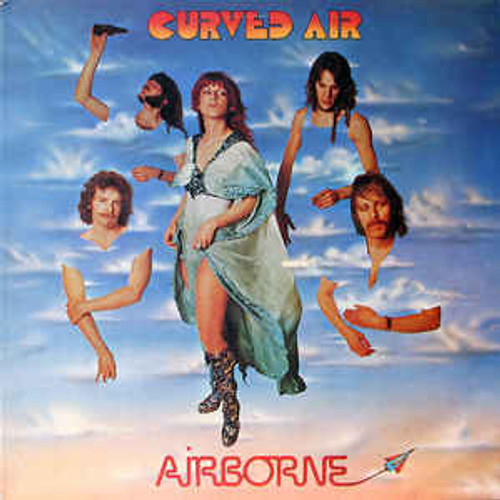 Curved Air ‎– Airborne (UK) - LP *USED*