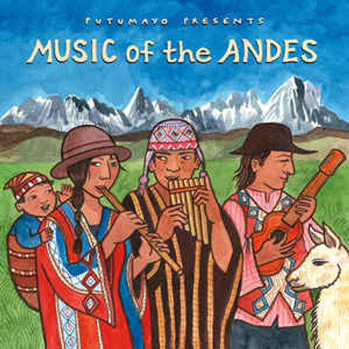 Putumayo - Music Of The Andes - Various - CD *NEW*