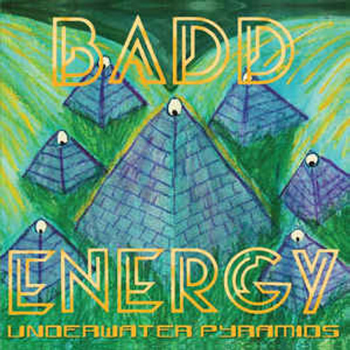 Badd Energy ‎– Underwater Pyramids - LP *NEW*