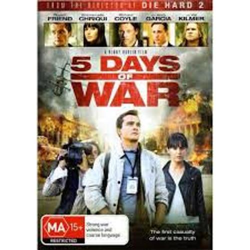 5 Days Of War - DVD *NEW*