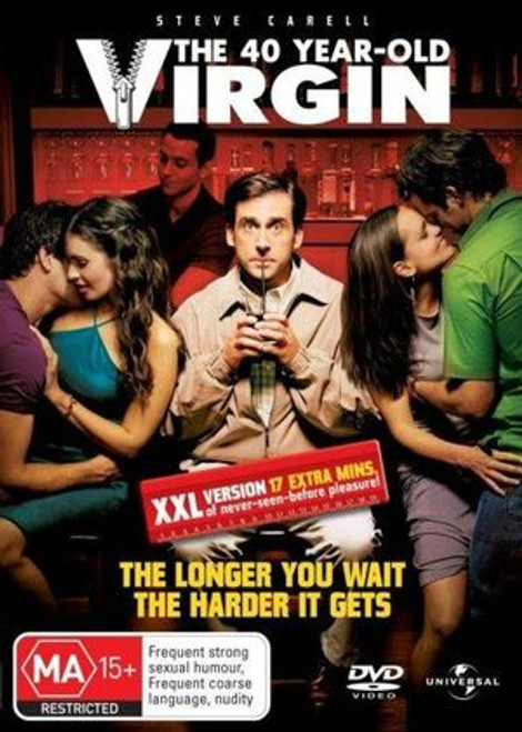 40 Year Old Virgin - DVD *NEW*