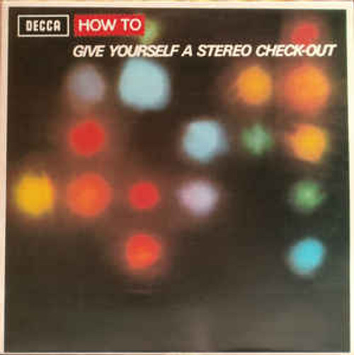 No Artist ‎– How To Give Yourself A Stereo Check-Out (NZ) - LP *USED*