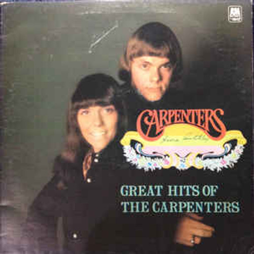 Carpenters – Great Hits Of The Carpenters (NZ) - LP *USED*