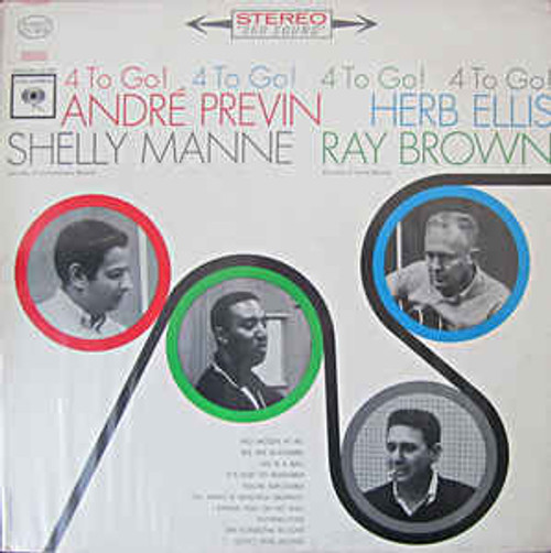 André Previn, Herb Ellis, Shelly Manne, Ray Brown ‎– 4 To Go! (NZ) - LP *USED*
