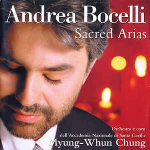 Andrea Bocelli, Orchestra dell'Accademia Nazionale di Santa Cecilia E Coro dell'Accademia Nazionale di Santa Cecilia, Myung-Whun Chung – Sacred Arias - CD *NEW*