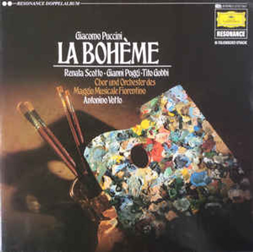 Giacomo Puccini – La Boheme (GERMANY0 - 2LP *USED*
