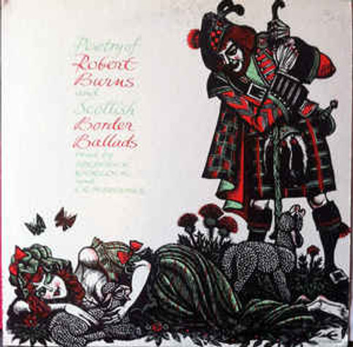 Robert Burns (4) Read By Frederick Worlock And C. R. M. Brookes – Poetry Of Robert Burns And Scottish Border Ballads - LP *USED*