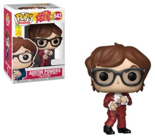 Austin Powers (Red Suit Ver.)- Pop! Vinyl Figure *NEW*