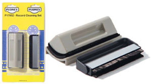 PUDNEY CARBON FIBRE & VELVET BRUSH RECORD CLEANING SET